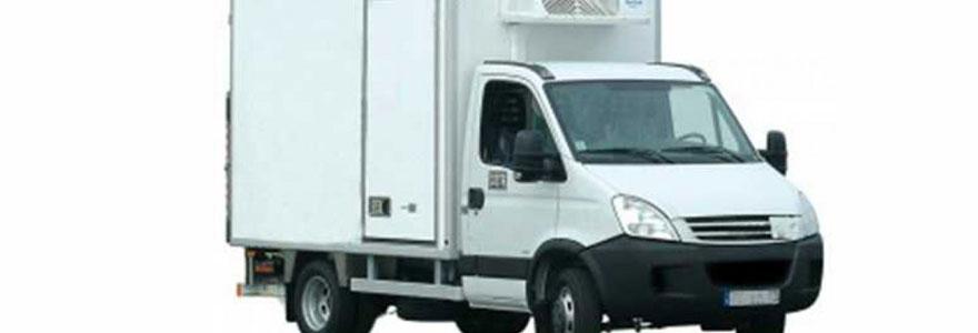 location camion frigo