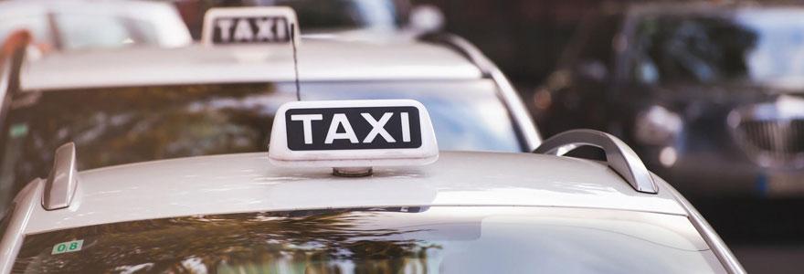 Services d'un taxi privé
